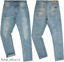 Nudie Jeans co/ヌーディージーンズ LEAN DEAN/リーンディーン CLASSIC USED(クラシックユーズド) 12oz. comfort stretch denimストレ…