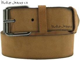 Nudie Jeans co/ヌーディージーンズ PEDERSSON SUEDE BELT スエードベルト OCHRE(オーカー)