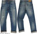 Nudie Jeans co/ヌーディージーンズTHIN FINN/シンフィン AUTHENTIC REPAIR(オーセンティック・リペア) 11オンスコンフォートストレッ…