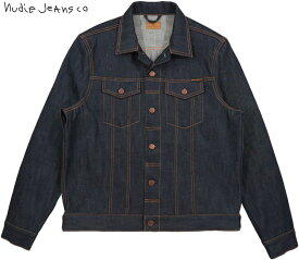 Nudie Jeans co/ヌーディージーンズ JERRY(ジェリー) DRY RING(ドライリング)リジットデニム デニムジャケット/ジージャン/Gジャン・デニジャケ