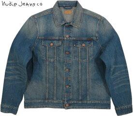 Nudie Jeans co/ヌーディージーンズ JERRY(ジェリー) DARK WORN(ダークウォーン) デニムジャケット/ジージャン/Gジャン・デニジャケ