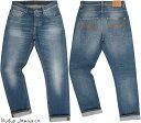 Nudie Jeans co/ヌーディージーンズ GRIM TIM(グリムティム) CONJUNCTIONS(コンジャクションズ) 12oz. comfort stretch denimボタンフ…