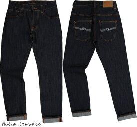 Nudie Jeans co/ヌーディージーンズTHIN FINN/シンフィン TIGHT FIT, NORMAL WAIST, LOW YOKE, NARROW LEG, OPENING ZIP FLY DRY ECRU EMBO(ドライエクリュエンボ) スキニージーンズ/デニムパンツ