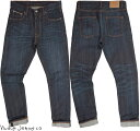 Nudie Jeans co/ヌーディージーンズ LEAN DEAN/リーンディーン DARK SELVAGE(ダークセルヴィッチ) 12.5 OZ. JAPANESE COMFORT STRETCH …