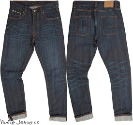 Nudie Jeans co/ヌーディージーンズ LEAN DEAN/リーンディーン DARK SELVAGE(ダークセルヴィッチ) 12.5 OZ. JAPANESE COMFORT STRETCH SELVAGE DENIM