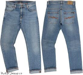 Nudie Jeans co/ヌーディージーンズTHIN FINN/シンフィン TIGHT FIT, NORMAL WAIST, LOW YOKE, NARROW LEG, OPENING ZIP FLY LOST ORANGE(ロストオレンジ)