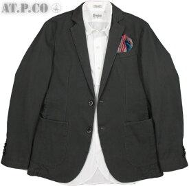 AT.P.CO/アティピコA152ALAN60 コットンテーラードジャケット,ブレザー/モールスキン ジャケット CHARCOAL(チャコール)