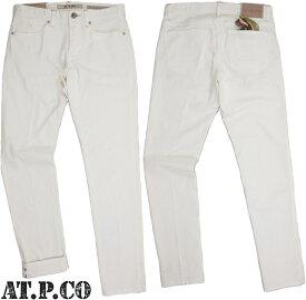 AT.P.CO/アティピコA141FRED75 ストレッチホワイトデニム/ジーンズ OFF WHITE(オフホワイト)