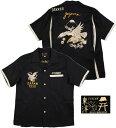 "TAILOR TOYO/テーラートーヨー S/S SUKA SHIRT""EAGLE""半袖スカシャツBLACK(ブラック)/TT37330"