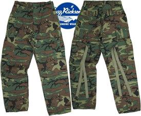 BUZZ RICKSON'S/バズリクソンズ RESISTANT POPLIN, CAMOUFLAGE 6ポケット、CAMO柄ミリタリーカーゴパンツ/カモフラカーゴ 199)CAMOUFLAGE(カモフラージュ)/BR41497