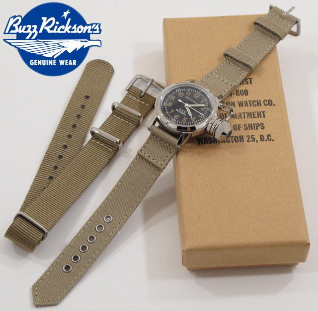BUZZ RICKSON'S/バズリクソンズ WATCH, WRIST BUSHIP U.S.N.ミリタリーウォッチ/ミリタリー腕時計