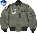 "BUZZ RICKSON'S/バズリクソンズ Jacket, Flying, Light Type L-2B""TOPS APPAREL MFG .CO.,INC."" 18th TAC. RECON. SQ.タイプL-2B フラ…"