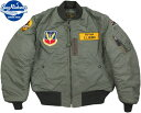 "BUZZ RICKSON'S/バズリクソンズ Jacket,Flying,Intermediate Type MA-1 ""LION UNIFORM INC.""613th TAC. FIGHTER SQ./第613戦術戦闘飛…"