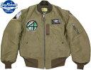 "BUZZ RICKSON'S/バズリクソンズ Jacket, Flying, Intermediate Type B-15C OLIVE(MOD.)""B.RICKSON MFG. CO.""1951 MODEL3604th COMBAT…"