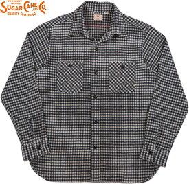 SUGAR CANE/シュガーケーン TWILL CHECK L/S WORK SHIRT ツイルチェック ワークシャツ/チェックシャツ/綿ネルシャツ OFF WHITE(オフホワイト)/SC28229