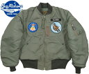 "BUZZ RICKSON'S/バズリクソンズ Jacket,Flying,Intermediate Type MA-1 ""LION UNIFORM INC.""22nd TAC. FTR. SQ. PATCH22nd TFSパッチ…"