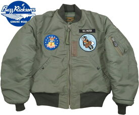 "BUZZ RICKSON'S/バズリクソンズ Jacket,Flying,Intermediate Type MA-1 ""LION UNIFORM INC.""22nd TAC. FTR. SQ. PATCH22nd TFSパッチ付き、ライオンユニフォーム・MA-1ファースト/ Lot;BR14433"