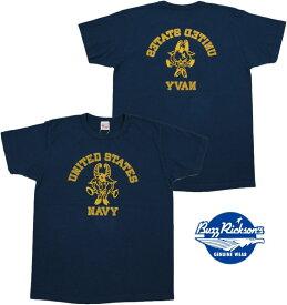 "BUZZ RICKSON'S/バズリクソンズS/S T-SHIRT ""U.S. NAVY"" 半袖バックプリントTシャツ/カットソー NAVY(ネイビー)/BR78293"