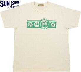"""SUN SURF/サンサーフ S/S T-SHIRT""""TIKI"""" 半袖プリントTシャツ/カットソー OFF WHITE(オフホワイト)/SS78232"""