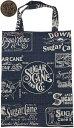 SUGAR CANE/シュガーケーン BANDANNA TOTE BAG バンダナトートバッグ/エコバッグ/ショッピングバッグ 128 NAVY(ネイビー)/SC02655