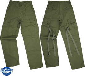 BUZZ RICKSON'S/バズリクソンズ TROUSERS, MEN'S, COTTON WIND RESISTANT POPLIN,OLIVE GREEN, ARMY SHADE 107 6ポケット、ミリタリーカーゴパンツ 149)OLIVE(オリーブカーキ)Lot/BR40927