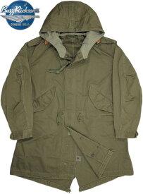"BUZZ RICKSON'S/バズリクソンズ PARKA-SHELL Type M-51""BUZZ RICKSON CLOTHES""M-51シェルパーカージャケット/シェルパーカ OLIVE DRAB(オリーブドラブ)/ Lot;BR12266"