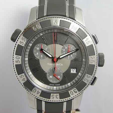 【質屋出店】【当店保証1年付】ティファニー マークT−57 18014637 メンズ 時計【中古】