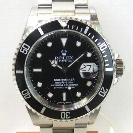 【質屋出店】【当店保証3年付】ロレックス サブマリーナー 16610 メンズ 時計【中古】