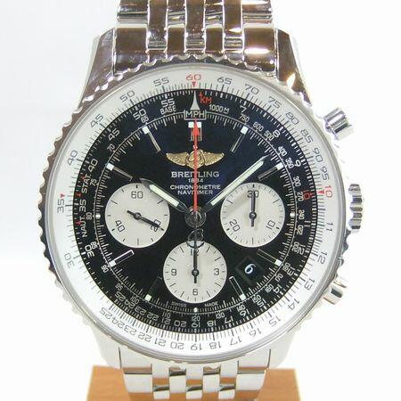 【質屋出店】【当店保証1年付】ブライトリング ナビタイマー01 AB0120 メンズ 時計【中古】