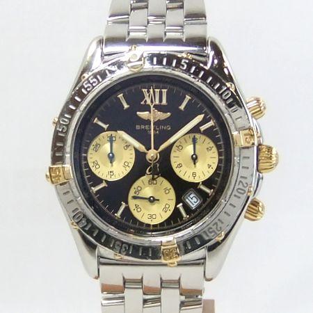 【質屋出店】【当店保証1年付】ブライトリング B55048 ジェットストリーム クロノグラフ メンズ 時計【中古】