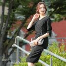 パーティードレス318047Avaパーティードレスキャバドレスフォーマルドレス膝丈ドレス長袖ドレス袖付ドレス