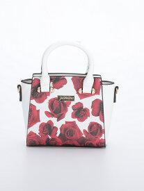 再入荷【 jasmine】薔薇柄ハンドバック ショルダーバック J718518 MIYUKIドレス ミニバック 店内バック