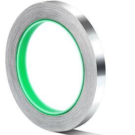 Teenitor 導電性アルミ箔テープ 幅10mm×長さ20m×厚さ0.1mm 導電性アルミテープ 静電気除去 アルミテープチューニング 厚手アルミテー