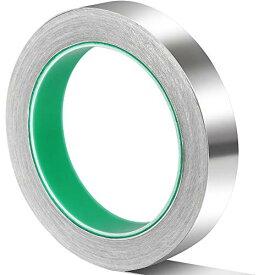 Teenitor 導電性アルミテープ 幅20mm×長さ20m×厚さ0.1mm アルミ箔テープ 導電 厚手アルミテープ 静電気除去 アルミテープチューン 金