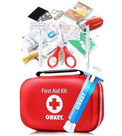 OHKEY 救急セット ポイズンリムーバー 救急箱 ファーストエイド キット 登山 アウトドア