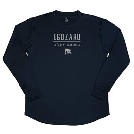 [3色展開]エゴザル EGOZARUバスケ tシャツLET'S PLAYロングTシャツロンT 長袖【EZLT-1812】