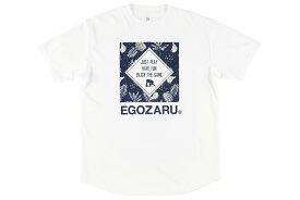 [3色展開]エゴザル EGOZARUバスケ tシャツSQUARE PINEAPPLE Tシャツ【EZST-1905】