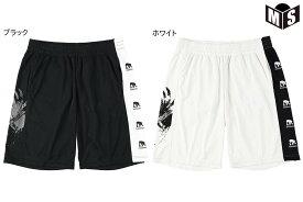 【2色展開】エゴザル EGOZARUバスケ パンツSIDE PRINT TOUGHNESSショーツ【EZHP-2001】
