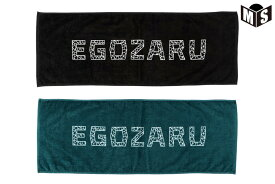 【2色展開】エゴザル EGOZARUバスケ 記念品POLYGON MESHフェイスタオル【EZAC-2011】