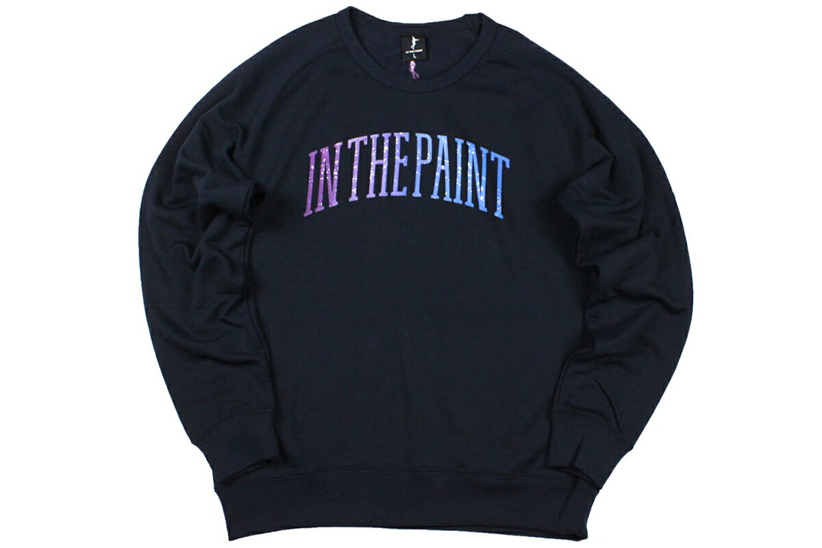 [3色展開]インザペイント IN THE PAINTスウェットシャツ上着 バスケット 冬物 ウインター【ITP18416】【6912円→5875円】
