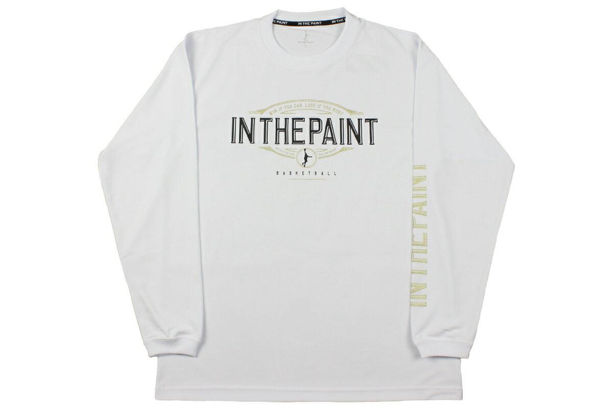 [6色展開]IN THE PAINT インザペイントロングTシャツロンT 練習着【ITP18401】【4536円→3856円】