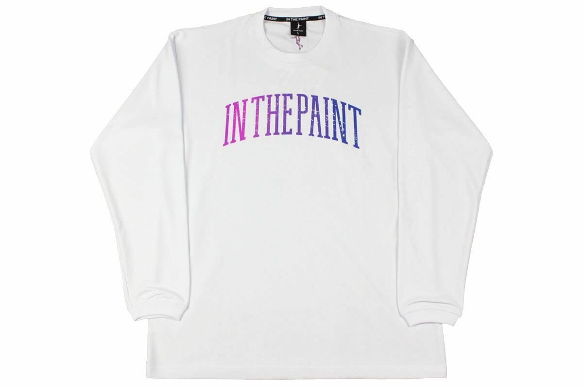 [3色展開]IN THE PAINT インザペイントロングTシャツロンT 練習着【ITP18411】【4536円→3856円】