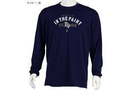 【6色展開】インザペイント IN THE PAINTバスケ ロングtシャツロングスリーブシャツ【ITP19386】4536円→3855円