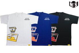 【3色展開】リトルモンスター Little Monstersバスケ Tシャツ【LM19220】【返品・交換不可】定価3300円
