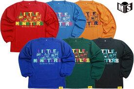 【6色展開】リトルモンスター Little Monstersバスケ ロンtロングスリーブシャツ【LM19236】【返品・交換不可】定価4400円