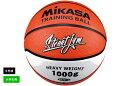 【10月上旬入荷予定】【ネーム加工不可】ミカサ MIKASAバスケットボールトレーニングボール5号球ゴム 小学生(オレン…