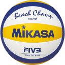MIKASA(ミカサ)ビーチバレーボール 練習球バレーボールVXT30(白×黄×青)※こちらの商品はメーカーお取り寄せ商品になります。