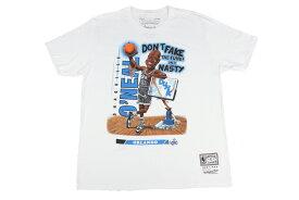 ミッチェル&ネス Mitchell&Nessバスケ tシャツNBA SLAM クラシックTシャツオーランド・マジック#32 シャキール・オニール【BA18353-OMA-W-BMT】