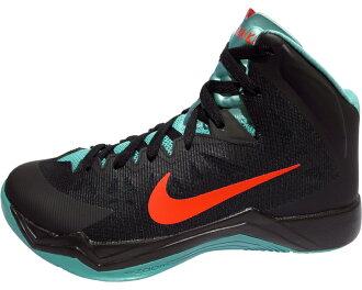 609678-005 JAPAN NIKE HYPERQUICKNESS Nike ハイパークイックネス Japan basketball shoes ( black x エメナルド green × Crimson )