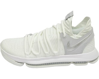 official photos 64f2b 94b32 NIKE ZOOM KD10 EP Nike Kay D 10 EP (white / chrome / pure platinum) Nike  Japan regular account product 2017/6/2